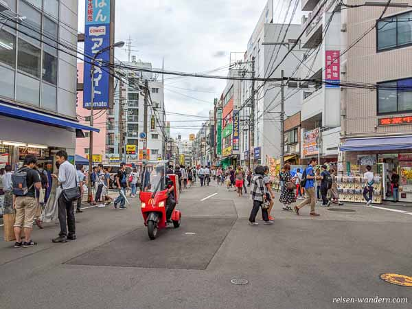 Animeviertel in Osaka