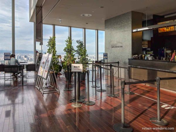 Skygarden 300 Cafe im Abeno Harukas Towers
