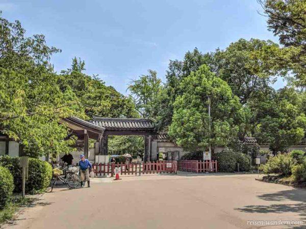 Nishinomaru shikirimon Tor beim Nishinomaru Garten