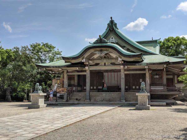 Hokoku Schrein bei der Burg von Osaka