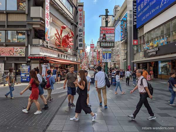 Dotonbori Shoppingmeile