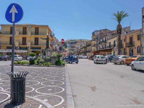 Piazza Falcone e Borsellino in Corleone