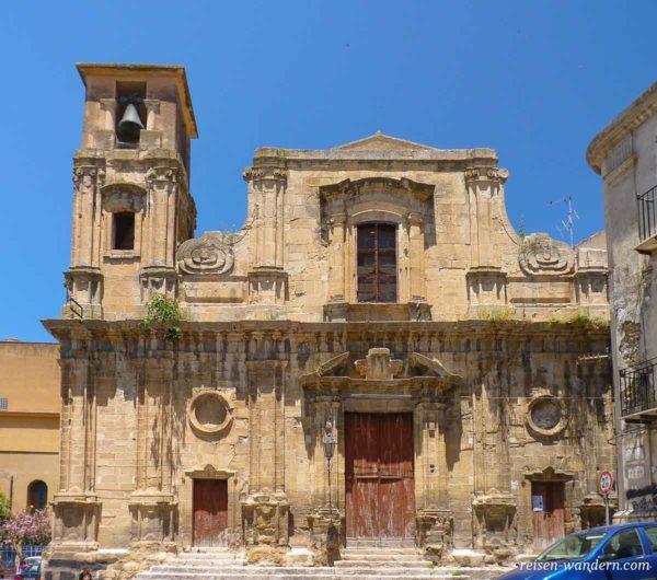 Ruine einer Kirche in Corleone