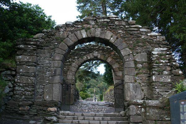 Irland Glendalough Ruine