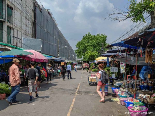 Chatuchak Weekend Market in der Woche
