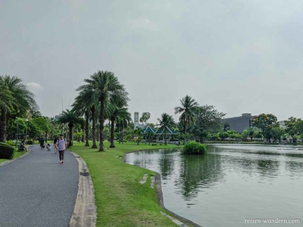 Chatuchak Park in Bangkok