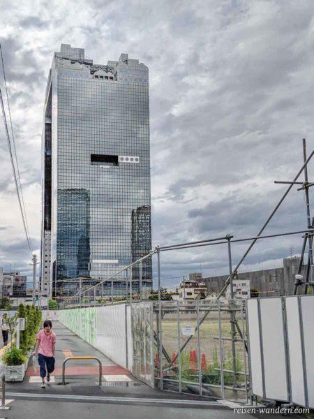 Weg zum Umeda Sky Building