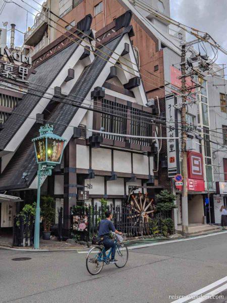 Skandinavisches Haus in Osaka