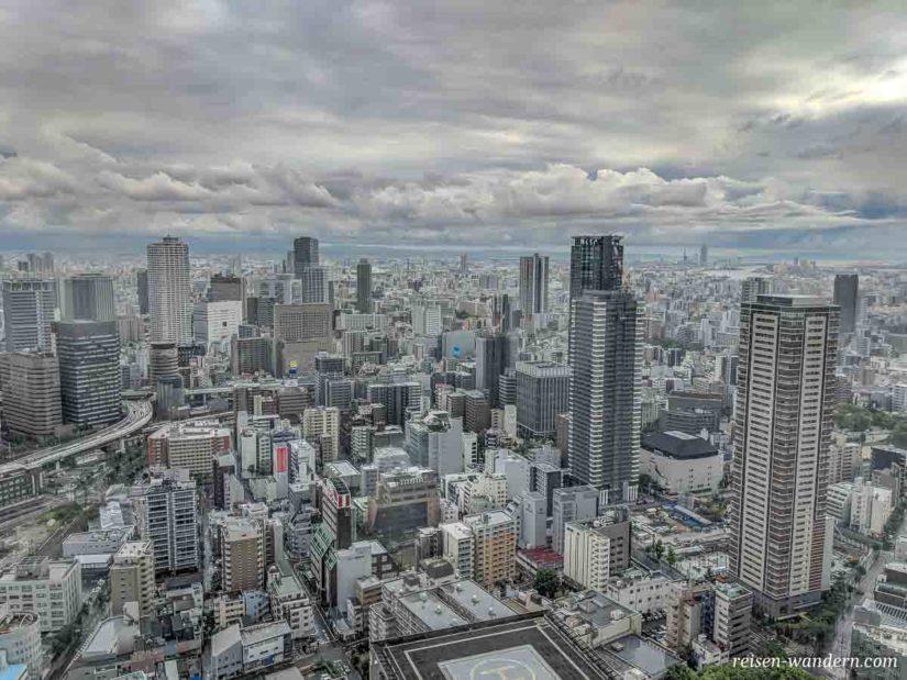 Skyline von Umeda in Osaka