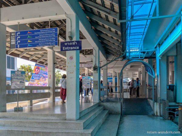 Sathorn Pier in Bangkok