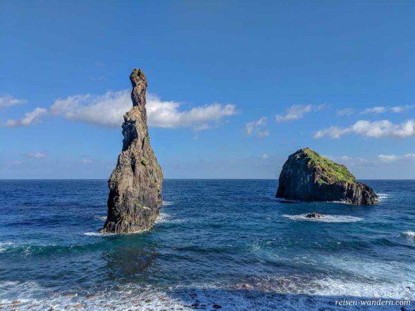 Nadelspitze Ilheus da Rib auf Madeira