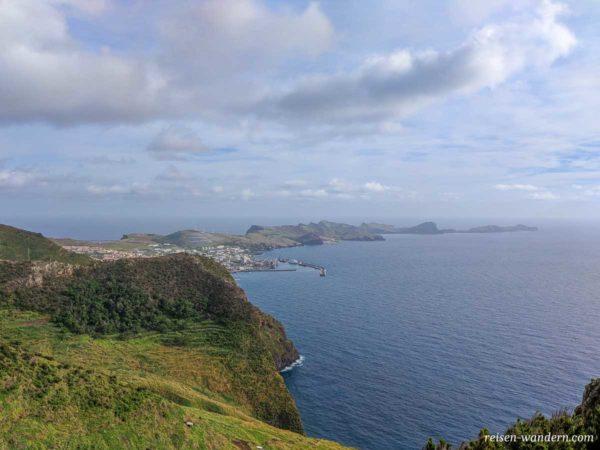 Nordspitze von Madeira vom Pico do Facho