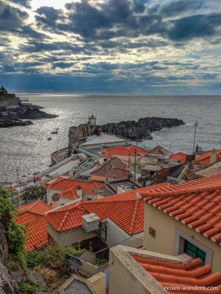 Bucht von Camara de Lobos auf Madeira