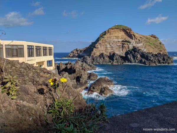 Porto Moniz auf Madeira