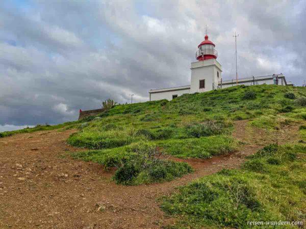 Leuchtturm bei Ponta do Pargo