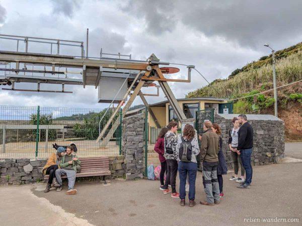 Bergstation Seilbahn nach Calhau das Achadas