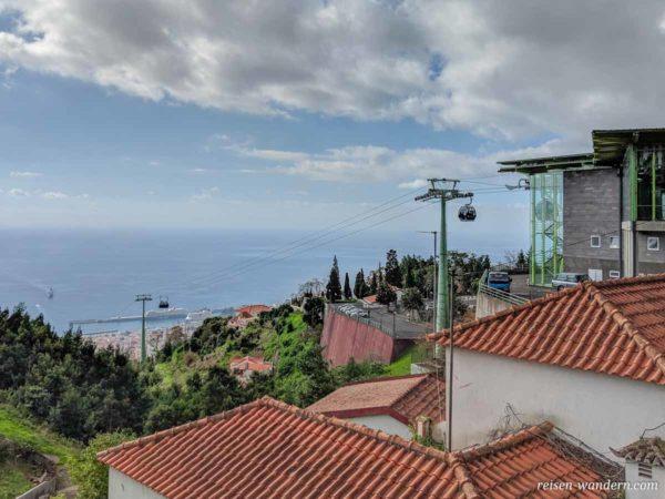 Bergstation der Seilbahn von Funchal