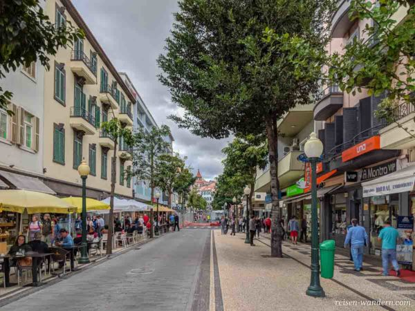 Fußgängerpassage Rua Dr. Fernão de Ornelas in Funchal