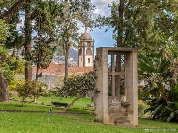 Park beim Museu da Quinta das Cruzes in Funchal