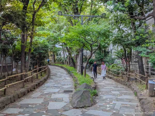 Four Season Path hinter dem Golden Gai Viertel