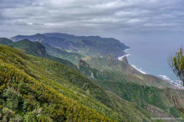 Nordküstenlinie des Anaga Gebirges