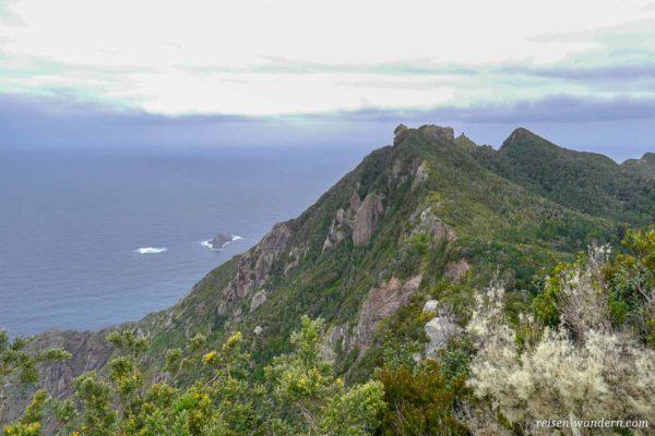 Blick in den Norden des Anaga Gebirge