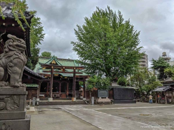 Ushijima Shrine im Sumida Park