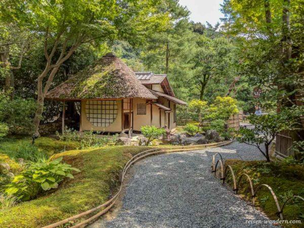 Japanisches Teehaus im Kōdaiji Tempel