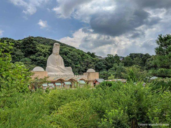 Ryozen Kannon Statue in Kyoto