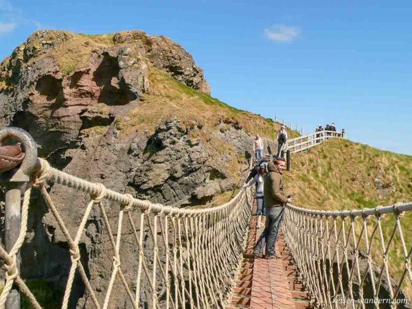 Hängebrücke Carrick-a-Rede in Nordirland