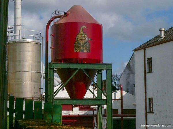 Brennereianlage der Old Bushmills Distillery