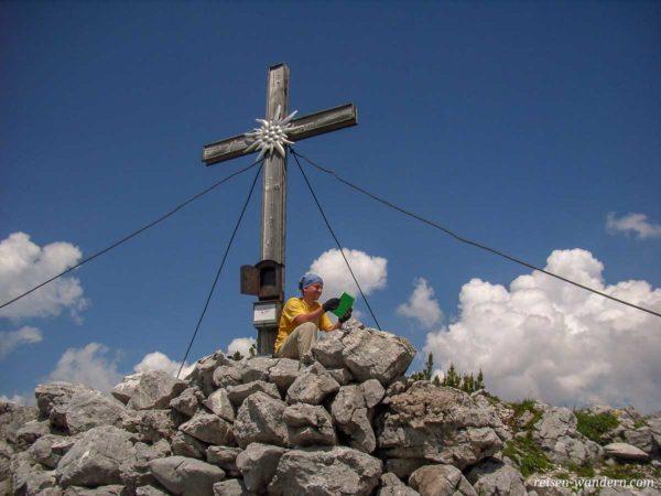 Gipfelkreuz Hochkranz bei Weißbach bei Lofer