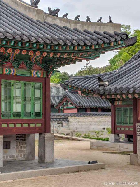 Alte Verwaltungsgebäude im Changdeokgung