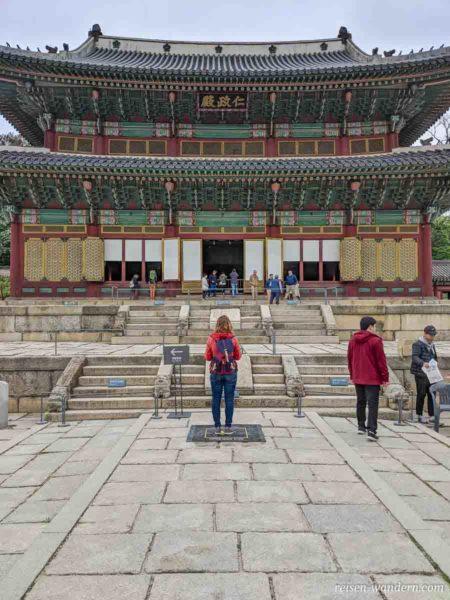 Thronsaal mit AR Spot im Changdeok Palast