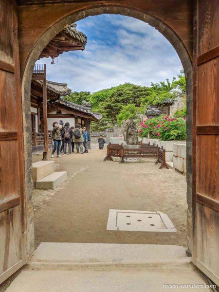 Gartenanlage hinter den königlichen Gemächern im Changdeokgung