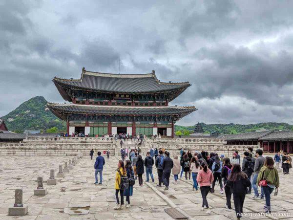 Geunjeongjeon Hall - Thronsaal - im Gyeongbokgung