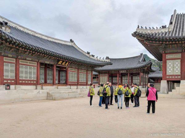 Unterkünfte des Königs und der Königin im Gyeongbokgung