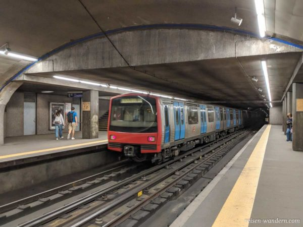 U-Bahn in Lissabon