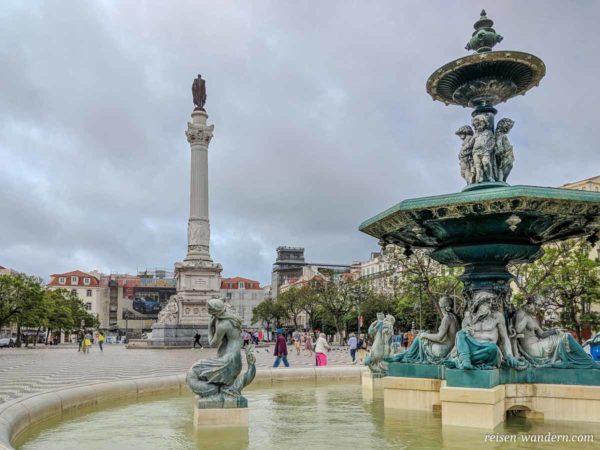 Platz Praça Dom Pedro IV