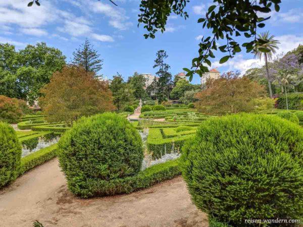 Botanischer Garten beim Palácio Nacional da Ajuda