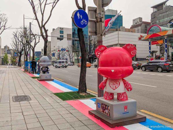 Figuren auf der K-Star Road