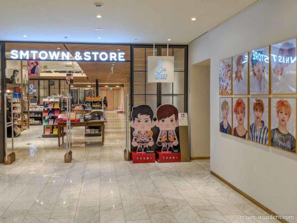 K-Pop Fanstore im SM-Town Market