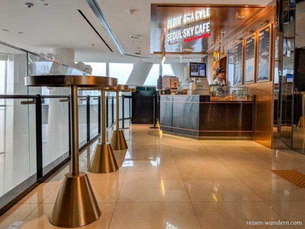 Cafe im Lotte Tower