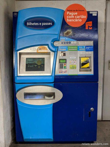 Fahrkartenautomat Großansicht
