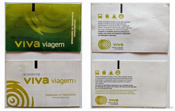 Viva Viagem Card aus Lissabon