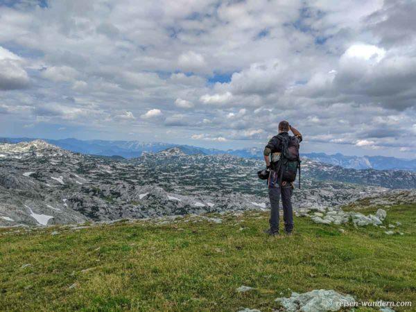 Plateau des Sinabell mit Weitblick in Landschaft