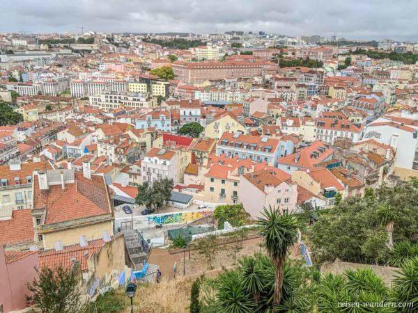 Stadtteil Alfama in Lissabon