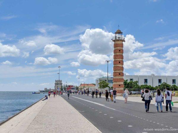 Leuchtturm Belem Lighthouse in Lissabon