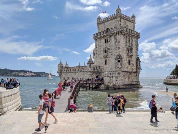 Wehrturm Torre de Belém in Lissabon