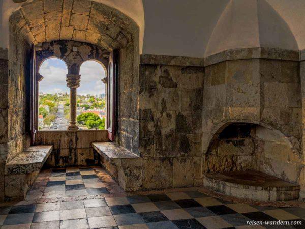 Raum im Turm des Torre de Belém